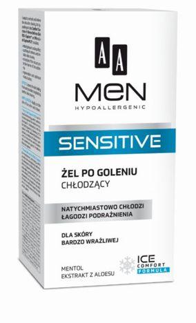 OCEANIC AA MEN Sensitive Żel po goleniu chłodzący do skóry bardzo wrażliwej 100 ml