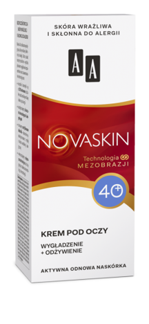 OCEANIC AA NOVASKIN 40+ krem pod oczy wygładzenie+odżywienie 15 ml