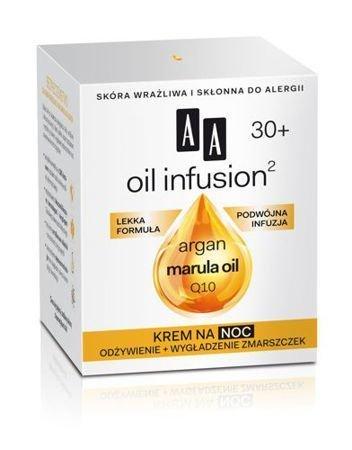 OCEANIC AA OIL INFUSION²  30+ Krem na noc odżywienie + wygładzenie zmarszczek 50 ml