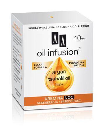 OCEANIC AA OIL INFUSION² 40+ Krem na noc regeneracja + sprężystość 50 ml