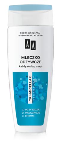 OCEANIC AA TRI-MICELLAR Mleczko odżywcze każdy rodzaj cery 200 ml