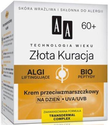 OCEANIC AA Technologia Wieku 60+ Złota Kuracja Krem przeciwzmarszczkowy na dzień 50 ml