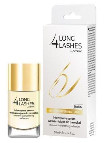 OCEANIC Long4Lashes Nails Intensywne serum wzmacniające do paznokci 10 ml