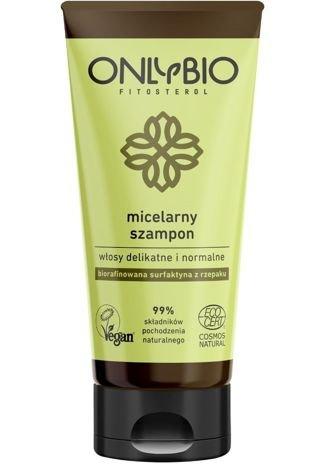 ONLYBIO Szampon micelarny do włosów delikatnych i normalnych 200 ml