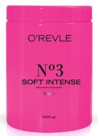 O'REVLE SOFT INTENSE Maska regenerująca dodająca włosom miękkości i jedwabistego wygłądzenia 1000 ml