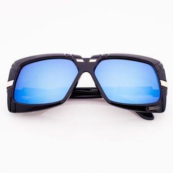 Okulary Przeciwsłoneczne Niebieskie Lustrzanki