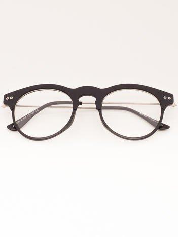 Okulary Zerówki ROUND Mat