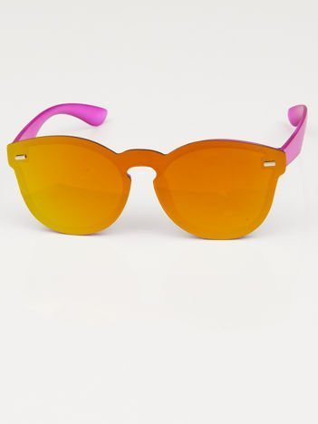 Okulary słoneczne FUTURYSTYCZNE LUSTRZANKI w stylu wayfayer