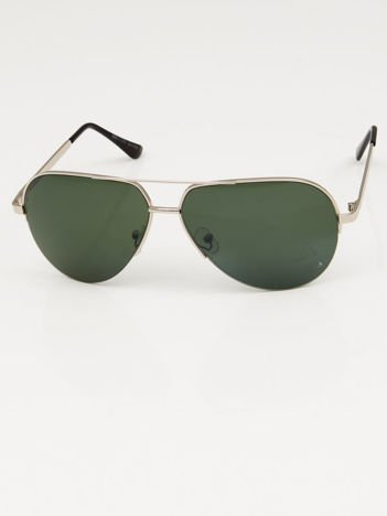 Okulary słoneczne PILOTKI AVIATORY