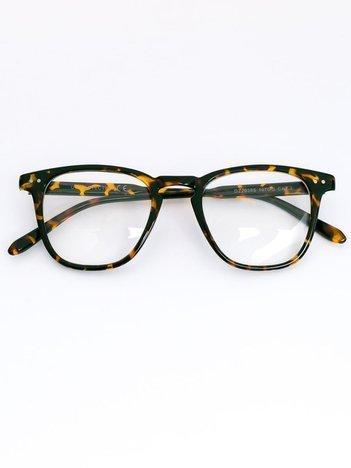 Okulary zerówki z kujonki