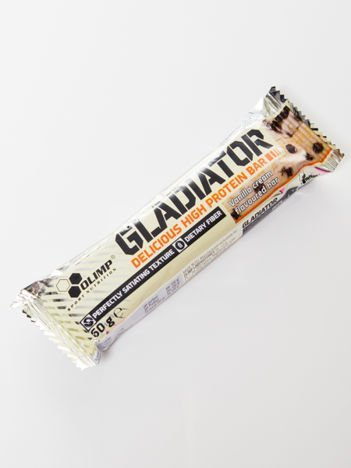 Olimp Baton Gladiator - 60g vanilla cream