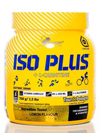 Olimp Napój Iso Plus Powder - 700g lemon