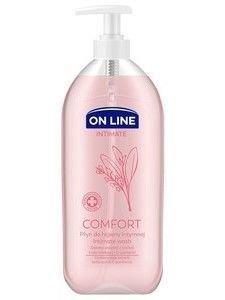 On Line Intimate Płyn do higieny intymnej Comfort z szałwią  500 ml