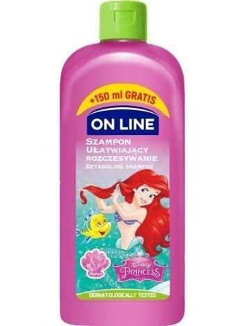 On Line Kids Disney Szampon dla dzieci ułatwiający rozczesywanie  Ariel  400 ml