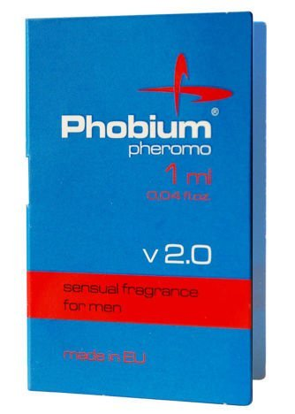 PHOBIUM v 2.0 - feromony męskie o eleganckim, męskim zapachu 1ml