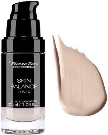 PIERRE RENE Fluid kryjący Skin Balance Professional nr 18 warm ivory 30 ml