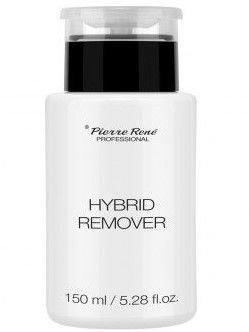 PIERRE RENE Hybrid Remover Zmywacz do lakierów hybrydowych z pompką 150ml