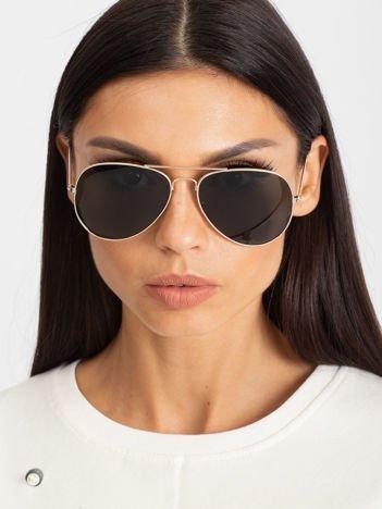 PILOTKI AVIATORY okulary przewciwsłoneczne unisex