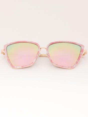 PREMIUM Damskie Okulary Przeciwsłoneczne CAT EYE