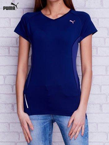PUMA Granatowy sportowy t-shirt
