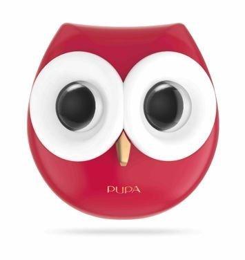 PUPA Owl Paleta do makijażu oczu i ust 003 Warm Shades