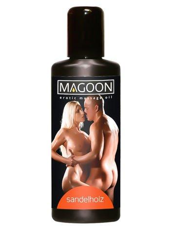 Pielęgnacyjny olejek do masażu erotycznego o stymulującym zapachu drzewa sandałowego 100ml