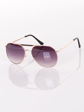 Pilotki AVIATORY-NOWOCZESNY DESIGN okulary przeciwsłoneczne z systemem FLEX na zausznikach