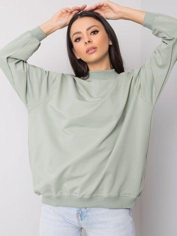 Pistacjowa bluza Twist