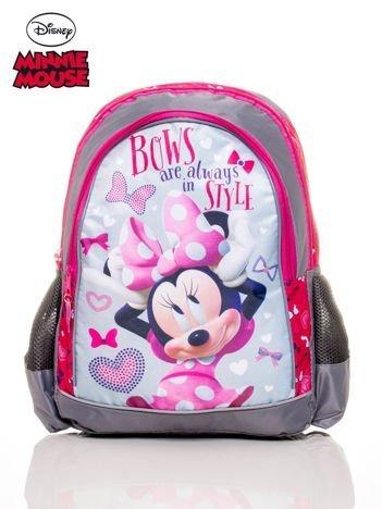Plecak szkolny dla dziewczynki motyw MINNIE MOUSE