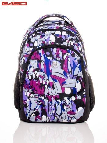 Plecak szkolny w tukany