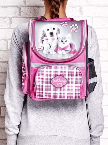 Plecak szkolny z motywem zwierzęcym