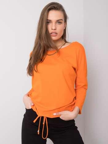 Pomarańczowa bluzka Fiona