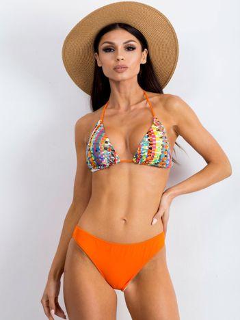 Pomarańczowe bikini Chewy