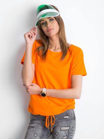 Pomarańczowy t-shirt Curiosity