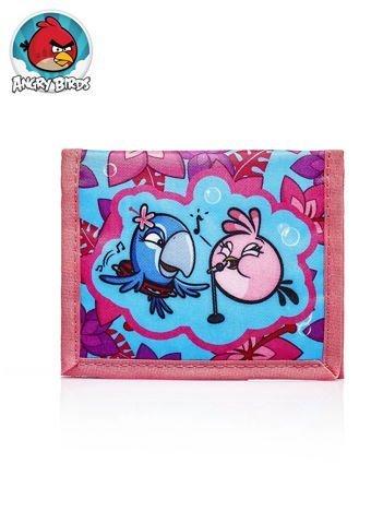 Portfel na rzep dla dziewczynki motyw ANGRY BIRDS