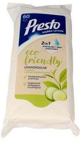 Presto Uniwersalne ściereczki czyszczące 2 w 1 Eco Friendly  1 op.- 60 szt