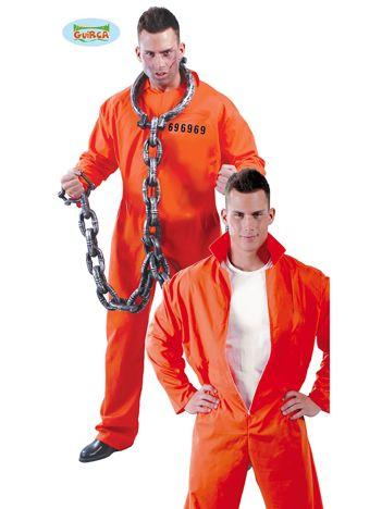 Przebranie dla dorosłych Więzień