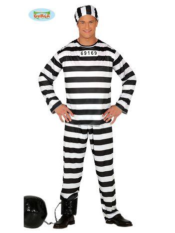 Przebranie na imprezę Więzień