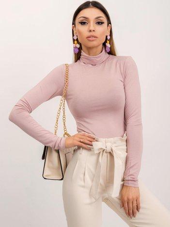 Pudroworóżowa bluzka Laura