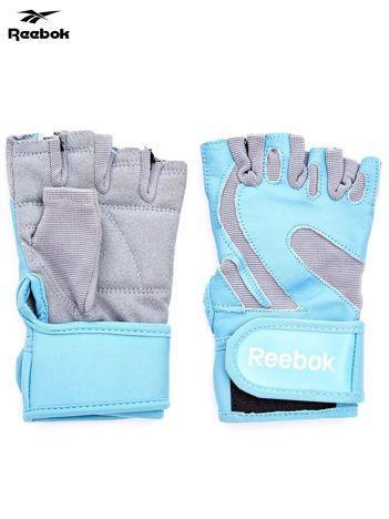 REEBOK Niebieskie rękawiczki treningowe