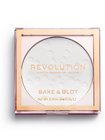 REVOLUTION Bake & Blot Puder matujący White 5,5 g