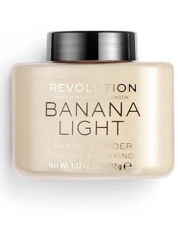 REVOLUTION Puder sypki Loose Baking Powder Banana 32g