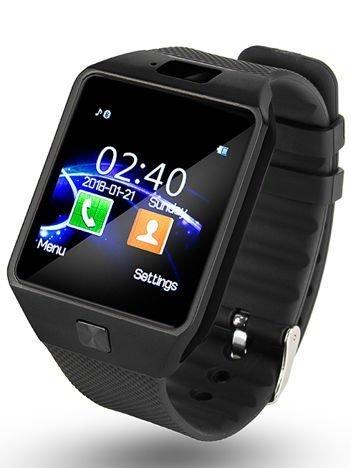 RONEBERG Smartwatch R09 Współpracuje z Android oraz iOS Powiadomienia Połączenia Krokomierz Monitor snu Czarny