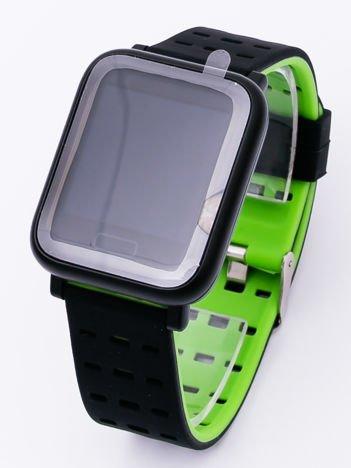 RONEBERG Smartwatch Smartband RA6 Pulsometr Ciśnieniomierz Oksymetr Powiadomienia Długi czas działania zielono-czarny