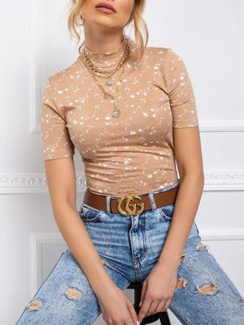 RUE PARIS Beżowa bluzka Safron