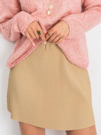 RUE PARIS Beżowa spódnica Delta