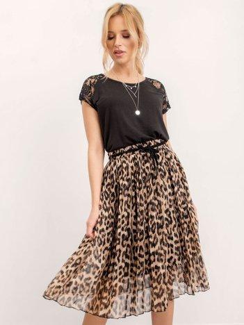 RUE PARIS Beżowa spódnica Luxe