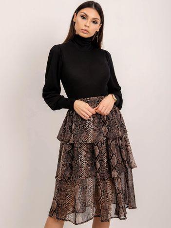 RUE PARIS Brązowa spódnica Josie