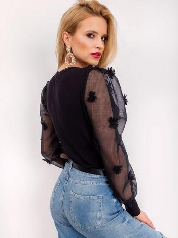 RUE PARIS Czarna bluzka Westie