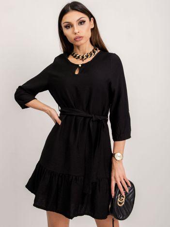 RUE PARIS Czarna sukienka Ellaine